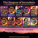 The Dragons of Incendium series by Deborah Cooke