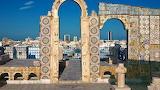 Rooftop Mosaics. Medina of Tunis, Tunisia