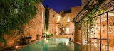 Luxury pool and terrace,  Luberon, France