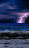 Lightning Strike On The Water
