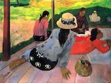 Cezanne-People resting