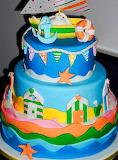 Beach lover's cake @ Creattivamente
