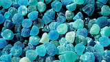 #Blue Jelly Candy
