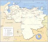 Venezuela Kaart