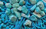 Turquoise, crystals, minerals