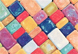#Chalk Mosaic