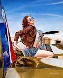 Spitfire-pin-up-robert-alvarado