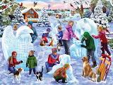 Mary Thompson 'Snow Sculpture Contest'