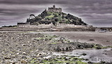 St. Michael's Mount. off the coast of Marazion. Cornwall. Englan