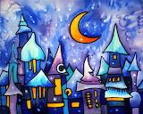 NightInTheFairyTaleTown ArmeniaOnSilk