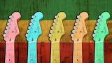 rainbow guitars