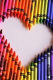 #Crayon Heart