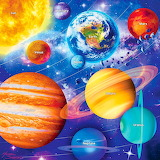 🌟Colorful Solar System...