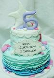 Isabella's cake @ Hey Cupcake