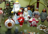Soviet toys on the Christmas tree
