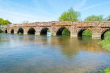 White Mill Bridge Sturminster Marshall England