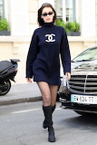 Sweatshirt Mini-dress