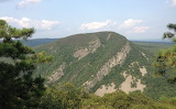 Mount Minsi Overlook Toward Mount Tammany