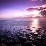 Violettes Meer