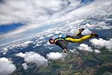 Hombre paracaídas