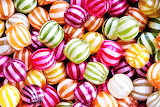 #Hard Striped Candy