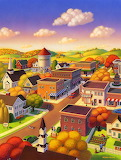 Harmony Town by Robin Moline