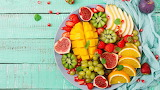 A Plate Full Of Fruit