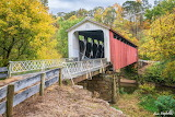 Hill covered bridge, by Bruce Wunderlich