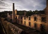 Abandoned prison Port Arthur Australia