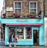 Sweet Shop London England UK Britain