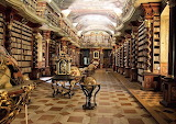 The klementinum library-prague