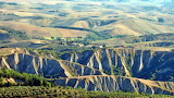 Balze Cliffs, Volterra, Italy
