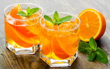 Orange drinks