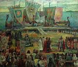 В.Н.Корбаков. 862 год. Приход Синеуса на Белоозеро