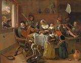 Jan Steen, The Merry Family