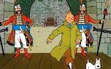 7 -Tintin  et  le  sceptre  d' Ottokar