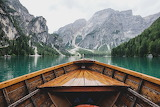 Boating in the mountains