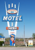 Betty Boop at the Stagecoach Motel
