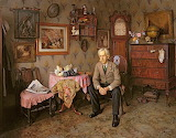 Charles Spencelayh, Why war?, 1938