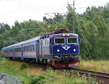Train in Sweden