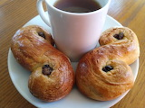 St Lucia Buns and coffee