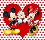 ☺♥ Minnie and Mickey...