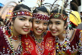 girls in Mindanao, Philippines