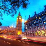 Big Ben in London at Night...