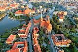 Cathedral Island Wrocław Poland Oder River