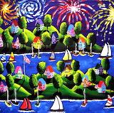 #4th of July Fireworks by Renie Britenbucher