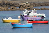 Boats near Porspoder