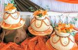 Flowerpot cakes @ Cake Studio Botswana