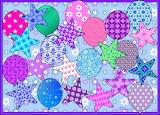 Stars & Balloons - collage