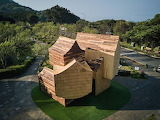"""Architecture archdaily """"Boolean Birdhouse"""" """"Arch. Phoebe Says Wo"""